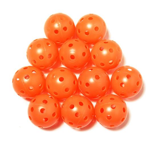 Elrey Orange hollow practice balls
